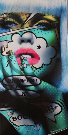 Baby don't go : Monika Nowak est née à Clermont-Ferrand dans une famille d'artistes d'origine polonaise.