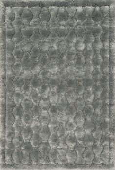Dream Shag Silver 2Ft 2In X 3Ft 9In Rug