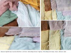 Poppytalk: DIY: Natural Dye Table Runner by Kathreen Ricketson
