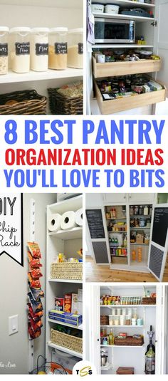 Organization Bedroom Life Changing - 8 Pantry Organization Ideas You'd Be Crazy To Ignore Home Decor Hacks, Home Organization Hacks, Pantry Organization, Home Hacks, Pantry Ideas, Decor Ideas, Storage Hacks, 31 Ideas, Storage Ideas