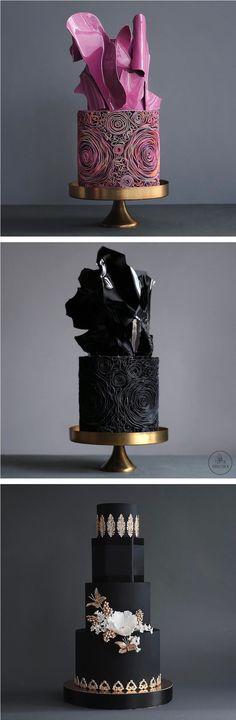 Artistic cakes // fancy foods // designer cakes