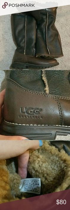 Brand new UGG boots Brand new never worn boots. Got them as a gift and never wore them UGG Shoes Winter & Rain Boots