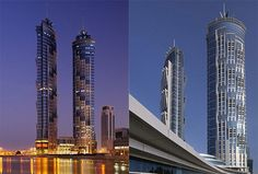 The world's tallest hotel JW Marriott Marquis stands 355m-high, beating the Guinness Book of World Records title for tallest dedicated hotel building in the world from Dubai's 333m-high Rose Tower.