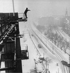 The Elizabeth Bridge reconstruction 1963