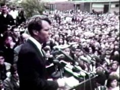 This special on Robert Kennedy, hosted by Walter Cronkite, aired later in the week after Kennedy's assassination on June 6, 1968, in Los Angeles, after winning the California primary election for the Democratic nomination for President of the United States.