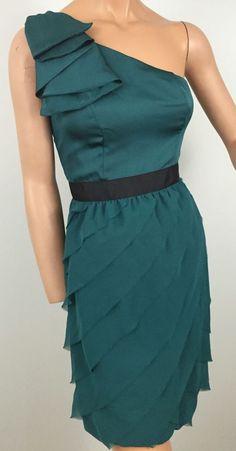 Lauren Conrad Sz 4 Party Dress Green Bubble Women's Cocktail Semi-formal #LCLaurenConrad #Bubble #Cocktail