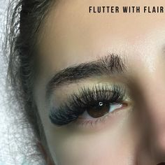 Flutter with Flair (@flutterwithflair) on Instagram: Mega volume lash extensions