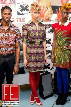 African fashion, haute/ will have to try these turbans.
