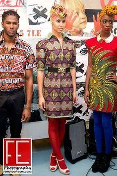 African fashion, haute