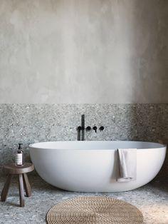 Eco-friendly interior design, Andi Juhász is from Behance. Rustic Bathroom Decor, Bathroom Styling, Bathroom Interior Design, Modern Bathroom, Master Bathroom, Zebra Bathroom, Disney Bathroom, Colorful Bathroom, Natural Bathroom
