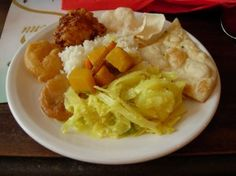 Vegetarian curry from Bombay Aloo, Brighton