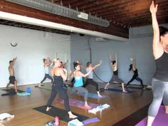 this is one of my fave yoga videos on line