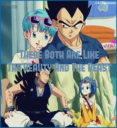 Characters: Vegeta and bulma  Gajeeland levy