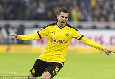 Mu đang theo đuổi tiền vệ Mkhitaryan của Dortmund ~ Kết quả bóng đá 247