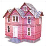 Melissa and Doug Classic Heirloom Victorian Wooden Dollhouse * Learn more by visiting the image link. (This is an affiliate link) Dollhouse Family, Wooden Dollhouse, Dollhouse Toys, Dollhouse Miniatures, Victorian Dolls, Victorian Dollhouse, Victorian Houses, Plastic Canvas Crafts, Plastic Canvas Patterns