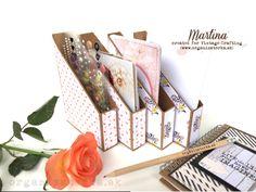 DIY Mini-organizér - zakladač na kartičky a ozdoby