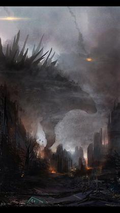Amazing Godzilla art