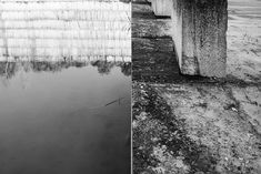 Misa ATO Photography — Impermanence de l'espace, Vers pont du gard,... Wabi Sabi, Perception Du Temps, Pont Du Gard, France, Corridor, Black And White, Abstract, Instagram, Artwork