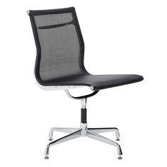 replica eames group standard aluminium chair cf. Aluminium Visitor Mesh Office Side Chair - Eames Reproduction \u2013 Black Replica Group Standard Cf N