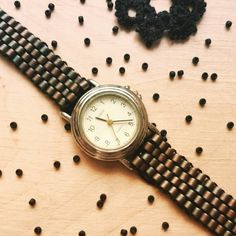 Second belt!  Drugi pasek!  #belt #bracelet #watch #handmade #handmadejewellery…