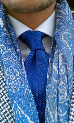 Nice Mix of Blues | Men's Fashion | Menswear | Men's Apparel | Men's Outfit idea for Spring/Summer | Ropa para Hombres | Shop at DesignerClothingFans.com