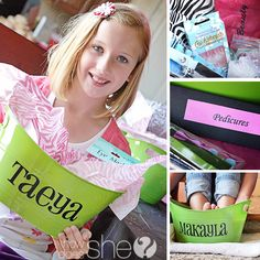 What a great idea for a tween party!