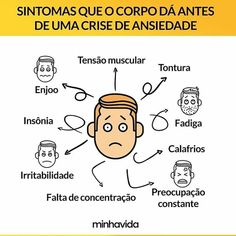 Sintomas que o corpo dá antes de uma crise de ansiedade Muscular, Comics, Link, Baby Health, Intermittent Fasting, Anxiety, Health Tips, Mental Health, Loosing Weight