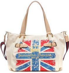 Union Jack tote / ShopStyle: サマンサタバサ ユニオンジャック アストル