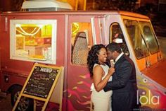 late night food truck as guests depart