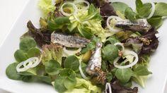 Receta de Ensalada de sardinas