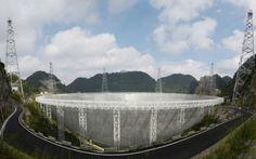 Telescopio chino busca extraterrestres