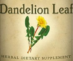 All Natural DANDELION LEAF Liquid Tincture Herbal Extract for Normal Circulatory System Function & Fluid Balance Herb Dietary Supplement USA