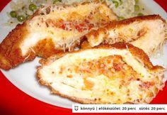 Hortobágyi göngyölt hús Ketogenic Recipes, Meat Recipes, Chicken Recipes, Cooking Recipes, Hungarian Cuisine, Hungarian Recipes, Hungarian Food, Food 52, Food And Drink