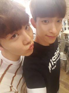 Seungkwan and DK