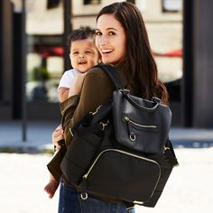 Chelsea Downtown Chic Designer Diaper Backpack | Skip Hop