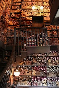 Ollivanders. I want to explore this place more than any other (except Hogwarts, perhaps)