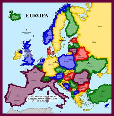 Just a simple map about Europe in just a few years. Eight current countries would become the Union of West Latin Republics (UWLR) and Moldova would beco. Map of Latin-led Europe Imaginary Maps, Fantasy Map, Alternate History, Historical Maps, World History, Roman Empire, Native American Indians, Medieval, Bible