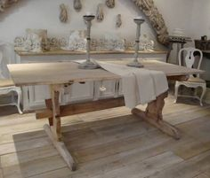 19th Century Swedish Bread Table in Furniture from Appley Hoare