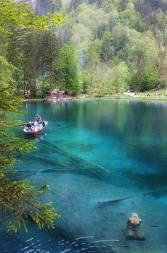 Blausee, BE Switzerland