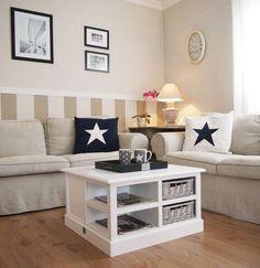 Weiße Möbel im Landhausstil verpassen Ihrem Zuhause den Shabby Chic. Exklusive Landhausmöbel mit Rattan und aus Massivholz, z. B. Kommoden online kaufen!