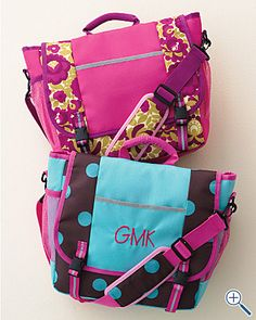 Back to School Messenger Bag for Girls | Savvy Sassy Moms