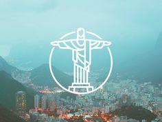 Cristo Redentor,一种图片的表现形式,适合app上展示图片分类时用