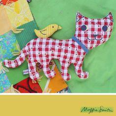 Kitty-Bird Softie Sewing Pattern
