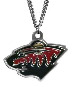 Another great find on #zulily! Minnesota Wild Logo Necklace #zulilyfinds
