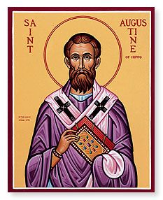 Feast of St. Augustine of Hippo; Christian Religious Observance; August 28; North African philosopher and theologian; a dominant influence in church history for the next millennium; his Confessions is a spiritual classic, and one of the first autobiographies.