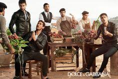 Dolce Gabbana menswear 2014