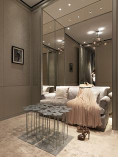 Dior fitting room