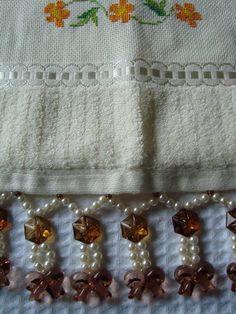 toalha de visita