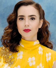 "Lily Collins at ""To the Bone"" Press Conference (June 30)"