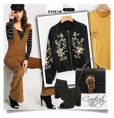 """""""SHEIN XIV/3"""" by creativity30 ❤ liked on Polyvore featuring shein"""
